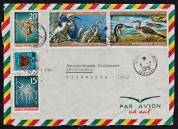 A5489 SENEGAL 1976, Cover From Saint Louis To Germany (front Cover Only) - Senegal (1960-...)