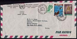 A5490 SENEGAL 1979, Cover From Dakar-Yoff To USA - Senegal (1960-...)