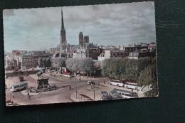 CPA 76 *ROUEN  PLACE GENERAL DE GAULE AU FOND LA CATHEDRALE - Rouen