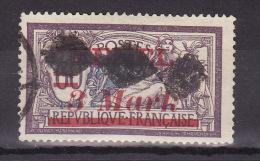 MEMEL 1922. Mi 68, Packchen-Stempel, USED - Memel (Klaïpeda)
