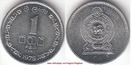 SRI LANKA 1 Cent 1978 KM#137 - Used - Sri Lanka