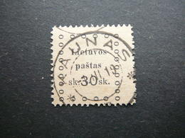 Kaunas Issue (III) # Lietuva Lithuania Litauen Lituanie Litouwen # 1919 Used # Mi. 23 - Litouwen