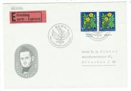 Suisse//Schweiz//Svizerra // Switzerland//Pro-Juventute // Lettre Exprès Pour Grenchen 1er Jour - Pro Juventute