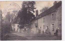 Tilchâtel - Cour De L'usine Des Forges Et Maison De Maître Perrin - France