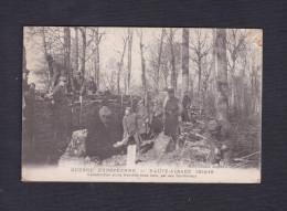 Haute Alsace Construction D'une Tranchée Sous Bois Par Des Territoriaux ( Cachet 49è Regiment Territorial Infanterie ) - Guerre 1914-18