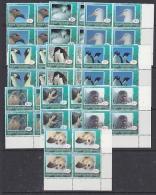 Ross Dependency 1994 Wildlife 10v Bl Of 4 (corner) ** Mnh (26669B) - Ross Dependency (Nieuw-Zeeland)