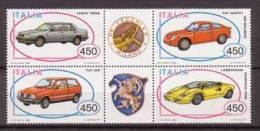 Italien , 1985 , Mi.Nr. 1912 - 1915 ** / MNH 6er Block - 6. 1946-.. Republik
