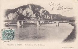 Vallée De La Meuse Poilvache Les Ruines Du Château Circulée Timbrée 1903 Peu Courante