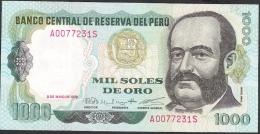 PERU   P118   1000  SOLES  3-5-1979    AU-UNC. - Pérou