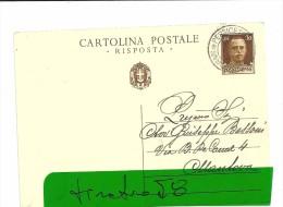 SAN GIOVANNI IN PERSICETO   - CARTOLINA POSTALE-- 1939 - Italia