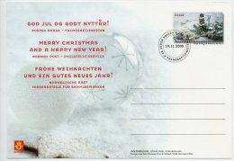 NORWAY 2005 Christmas Postal Stationery Card, Cancelled. - Postal Stationery