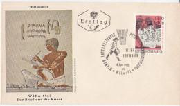 Austria FDC WIPA 1965 Der Brief Und Die Kunst Bb151223 - FDC