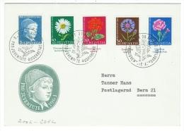 Suisse//Schweiz//Svizerra // Switzerland//Pro-Juventute // Lettre Pour Bern Série 1963 Cachet 1er Jour - Lettres & Documents