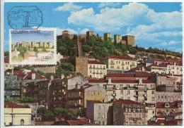St. George's Castle, Lisbon (Maximum Card) - Châteaux