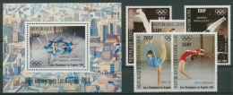 Zentralafrikanische Republik 1984 Olympiade 1013/17 Bl. 275 Postfrisch (G22198) - Repubblica Centroafricana