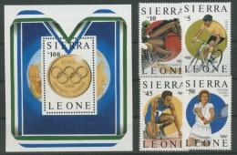 Sierra Leone 1987 Olympiade Seoul 997/0 Block 61 Postfrisch (R22215) - Sierra Leone (1961-...)