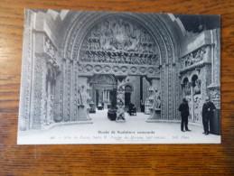 Musée De Sculpture Comparée  Aile De Passy Salle F  Porche De Moissac (XIIe Siècle ) - Museos