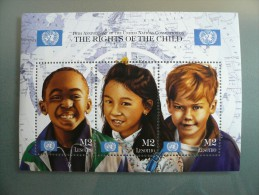 Lesotho - 10th Anniversary Of United Nations Convention - Rights Of Child - MNH ** - Lesotho (1966-...)