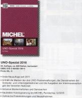 UNO Michel Spezial Katalog 2016 New 56€ ZD-Bögen FDC Markenhefte Stamp UN-Post Genf Wien New York ISBN 978-3-95402-139-0 - Vereinswesen