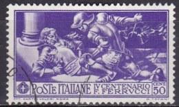 Regno D'Italia, 1930 - 50c Ferrucci - Nr.278 Usato° - Usati