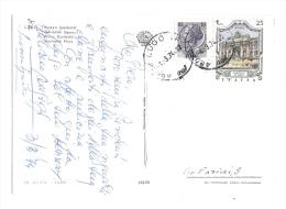 LUCIANO SANGIORGI Pianista Bolognese , Cartolina Autografa Del 1974 - Autografi