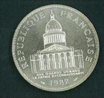 MONETA FRANCESE - ANNO 1982 - FDC - 100 FRANCHI - LIBERTè - EGALITè - FRATERNITè - REPUBLIQUE FRANCAISE - ARGENTO - SILV - France