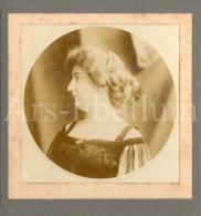 Cabinet Card / Photo De Cabinet / Kabinet Foto / Femme / Lady / Woman / Photographie / Sarah Bernhardt Lookalike (?) - Photos