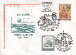 Austria FDC 1984 850 Jahre Vocklabruck Bb151223 - FDC
