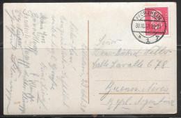 1930 Germany Pforzheim (30.10.30) On Ppc To Argentina - Germany