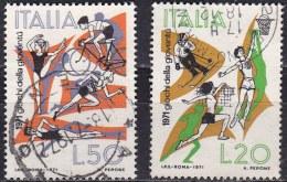 Repubblica Italiana, 1971 - Giochi Della Gioventù - Nr.1153/1154 Usato° - 1946-.. Republiek
