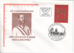Austria FDC 1984 Das Zeitalter Kaiser Franz Josephs Bb151223 - FDC