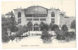 BIARRITZ (64) Façade De La Gare Du Chemin De Fer Du Midi - Biarritz