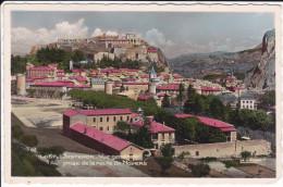 CPSM SISTERON 04 VUE GENERALE PRISE DE LA ROUTE DE NOYERS - Sisteron