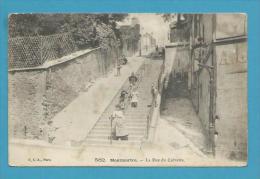 CPA 582 - La Rue Du Calvaire MONTMARTRE PARIS XVIIIème - District 18