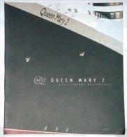 Eq2.c-  Paquebot QUEEN MARY 2 Liner Cunard Q.M.2 Cruises - Livret St-Nazaire Chantiers De L'Atlantique - Sciences & Technique