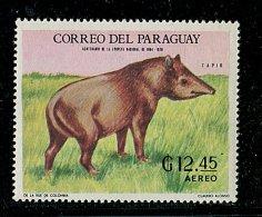 (cl. 3 - P39 ) Paraguay ** Michel N° 1945 (ref. Michel Au Dos) - Tapir - - Paraguay