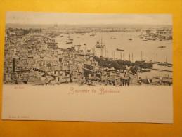 Carte Postale - BORDEAUX (33) - Souvenir De Bordeaux - Le Port (1102/1000) - Bordeaux
