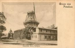 POTSDAM GRUSS AUS HISTORISCHE MUHLE SANSSOUCI - Potsdam