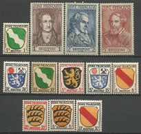 ALLEMAGNE ZONE FRANCAISE  N�  1 /13 NEUF** LUXE SANS CHARNIERE / MNH