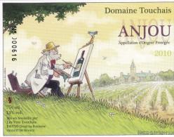 Étiquette Vin BD SIMON Fred Festival Angers 2012 (Le Poisson Clown) - Art De La Table