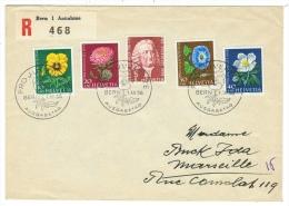 Suisse//Schweiz//Svizerra // Switzerland//Pro-Juventute // Lettre Pour Marseille 1er Jour 1.12.1958 - Pro Juventute