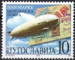 Yougoslavie Joegoslavie 2000 Yvertn° 2833 *** MNH Cote 3,50 Euro Zeppelin - Montgolfier