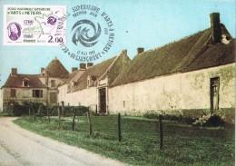 16118. Tarjeta Maxima LIANCOURT (France) 1980. Ecole Superieure D'Arts Et Metiers - Cartas Máxima