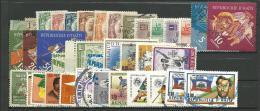 HAITI: **,*,Obl., N°10 à 830 + PA189 à 661, Petit Ens. De + 35 Tp, Av.n°374/7, Qq Pet. Déf., B/TB - Haiti