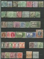 INDE ANGLAISE: Obl., N°33 à 170 + S.31 à 112 + Teleg.30à36, Ens De + 65 Tp, Qq Mult. Et Pet. Déf.,des Perforés - India (...-1947)