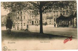 Brussel, Bruxelles, Place Stephanie (pk27471) - Places, Squares