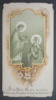 IMAGE PIEUSE BONAMY Pl 341 (chromo Vers 1900) LA COMMUNION DE LA SAINTE VIERGE / SANTINO - Images Religieuses