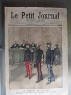 Le Petit Journal Affaire Dreyfus Zola Le Proces De Rennes Dreyfos Devant Le Conseil De Guerre - Newspapers