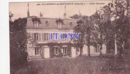 CPSM 9X14 De ST LAURENT De BREVEDENT   (76)  - CHALET NORMAND - Sonstige Gemeinden