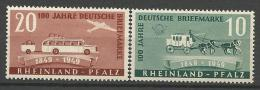 ALLEMAGNE RHENO-PALATIN N�  51 NEUF* CHARNIERE / MH